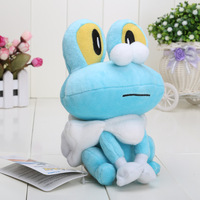 Free Shipping Super Cute Pokemon Froakie Plush Toy Stuffed Animal 7 inch Retail