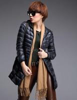 XXXL,XXXXL,5XL,6XL Plus Size Coats 2014 Long Section Thin Oversized Jacket Parkas for Women Winter