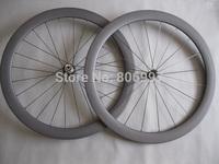 23mm width 50mm carbon bicycle wheels,full carbon fiber road bike tubular wheels with 3K matte finish(Powerway R13 hubs)