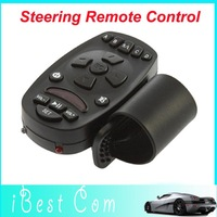 Auto Car Steering Wheel Study Remote Control for DVD GPS DC TV MP3  Mp4 Player wholesale Drop shipping 2013 New Version gift