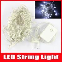 5m 50 LED Christmas Light Luminarias Home Wedding Decoration LED Strings Fairy Lights AC 110V 220V Cool White RGB 5PCS/Lot