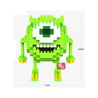 180Pcs Hot Sales LOZ Diamond blocks Gift Series Mike Building Blocks Toys