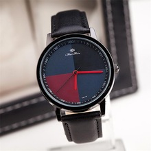 Free shipping! Concise fashion business mens watches, Trendy cool leather quartz watch, Fashion jewelry