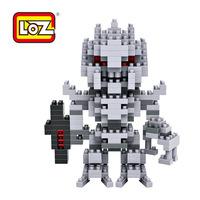 High Quality LOZ Diamond Blocks Toy  Granule Diamond Building Block Transform Series Galvatron Kid's Toy