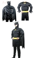adult muscle batman costume superman costume, halloween costume  for party,  cosplay costume carnival dress