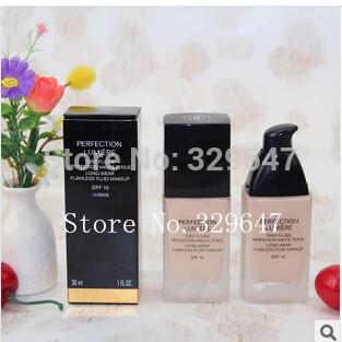 Versandkostenfrei Groß-und Einzelhandel neue make-up neue SPF10 flüssige grundlage 30ml 6pcs/lot