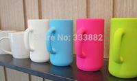 New Korea Creative 3D Mug Cup silicone case for iphone 4 Matte Phone Case for iPhone 4s