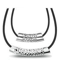 AAA 100% Silver 925 Necklace Hollow Out Lovers Necklaces & Pendants Couple Pendants Fine Jewelry Christmas Gift