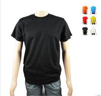 print logo DLY 160g polyester  t-shirt advertising shirt blank wholesale customization