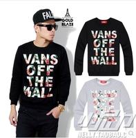 Vintage hoodie sweatshirt MEN casual sportswear streetwear sweater hip hop hoodies sport suit 2014 Skateboard sweats C1929