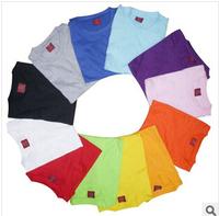 print logo DLY 120g cotton  t-shirt advertising shirt blank wholesale customization