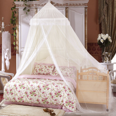 Free shipping King domed palace princess bed nets round bed nets \ bed mantle bunk bed canopy(China (Mainland))