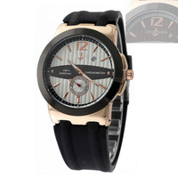2014 new arrival Top brand name famouse watch Silicone strap quartz wristwatch, Luxury men dress watch, fashion men casual watch