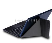 Windows 8 Cube U100GT (IWORK10) Transform Bluetooth keyboard leather case for WIN8 tablet pc