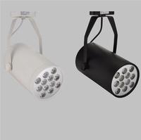 2w LED track light for store/shopping mall lighting lamp Color optional White/black Spot light