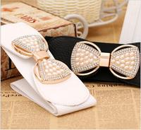 Do promotion ! free shipping bowknot belt for woman, Fashionable joker belts