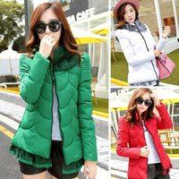 2014 new winter women's coat high quality down jacket coats down parka coats 3D flowers plus size L.XL.XXL ladies coat 862