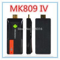 MK809 IV Quad Core Android TV Box XBMC Smart TV Media Player IPTV Receiver 2G/8G Wireless HDMI Mirco SD USB Mini PC MK809Iv