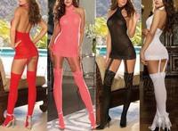 Women Sexy Lingerie Hot Underwear Lace Teddy Sleepwear Sexy Costumes Sexy Jumpsuit Dress /G string/Stocking /Garter Belt