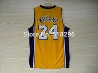 Los Angeles 24 Kobe Bryant Basketball Jersey Kobe Bryant Cheap New Rev 30 Embroidery Logo Jerseys Camisetas Basketball Maillots