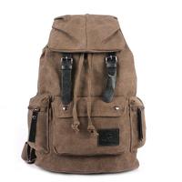 Free Shipping Vintage Canvas  Rucksack Backpack Folding book backpack Casual school Bag Men's Travel Bag Fashion Denim Bag