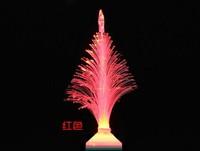 Fiber Optical LED Flower Light Christmas Tree Lamp 3W Decorative lamp