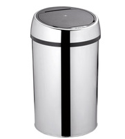 12L Guest room-stainless steel-infrared sensor bin- touchless rubbish can-sensor trash can