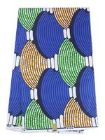 2014 Free Shipping Latest Fabrics Textile Cotton Super Real Wax Hollandis Wax Batik Prints Fabric RW04  6 yards/pc  for Clothing