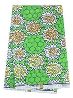 Free Shipping Latest Fabrics Textile 100% Cotton Super Real Wax Hollandis Wax Batik Prints Fabric RW03 6 yards/pc Wholesale