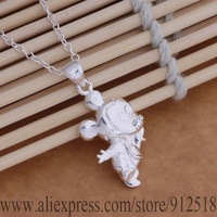 AN016 925 sterling silver Necklace 925 silver fashion jewelry pendant Mickey Mouse /flfaocma dwoamnva