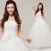 Factory wholesale Korean sweet princess dress wedding band together to wedding H12072.