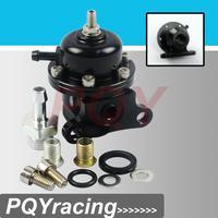 J2 Racing Store-Adjustable Fuel Pressure Regulator For 96-00 Honda Civic 1.6L VTEC 25-304BK