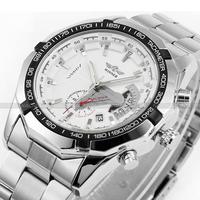 Relojes New 2014 Automatic Sports Watch Mens Mechanical Wristwatches Free Ship Gift Wrist Free Shippingwatch Wristwatch ,free