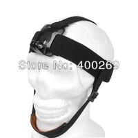 10pcs/lot Gopro Elastic Head Strap mount head belt Band for Go Pro Hero4,Hero3 plus,Hero3,Hero2,SJ4000 accessories GP90