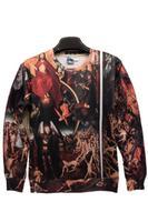 New women's autumn and winter 2014 fashion loose asymmetrical hem round neck long-sleeved T-shirt shirt brand sweaters Women