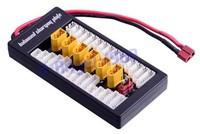 2S-6S Lipo Parallel Charging Board Balance / Charging Plate T Plug XT plug for choose - Imax B6 B6AC B8+free shipping