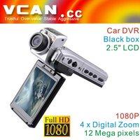 Popular 2.5 inch Full HD Car DVR Camera 1080p In Car Dash Video Camera  VCAN0426