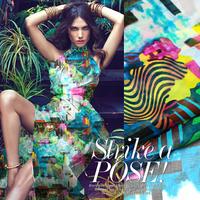 Nice Island Scenery Print 100%Silk Chiffon Fabric For DIY Summer Dress   135CM*100CM  6Mommie