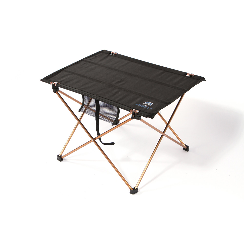 New Lightweight Aluminium Alloy Portable Folding Table Camping Outdoor Foldable Picnic Desk 690g 7075(China (Mainland))