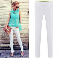 2014 European and American temperament Slim new women's cotton blend pants pencil pants / trousers feet