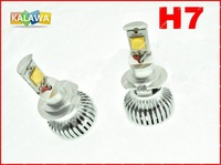 H7 CREE Fourth Generation USA 42W LED Auto Headlight Car Fog light Long life Waterproof 6000LM lampFREESHIPPING GGG