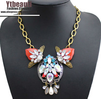 [Mix 15USD]High quality Bee Insect Necklace & Pendants Chunky chokers necklace statement jewelry for women party Dress