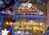 Mall/Square/Hotel/Supermaket Christmas Lights  Festival Ceremony Decoration COOL Customized