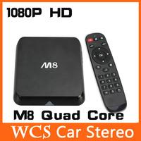 1080P HD XBMC Lastest Android Smart Mini TV Box W/M8 Quad Core 5G ,support Wifi