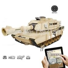 jxd jd805 wifi rc tank mit kamera und real- Zeit vedio Übertragung iphone/ipad/android(China (Mainland))