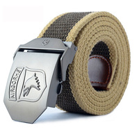 free shipping ! Male female belt Casual style canvas/cowhide Multi-Color men's fashion belt