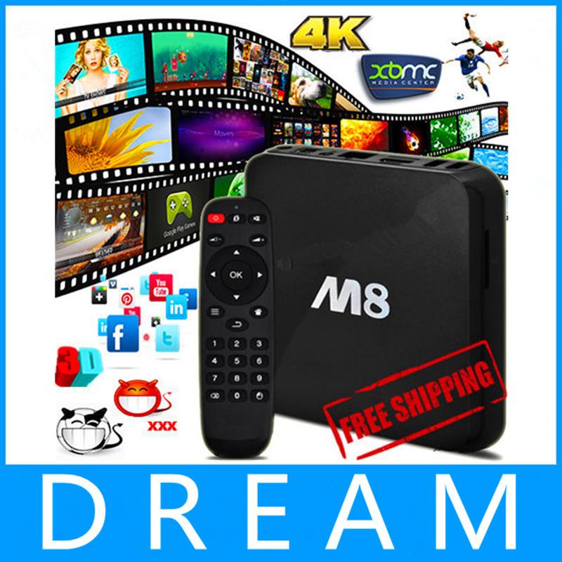 Original Amlogic M8 S802 Quad core Android TV Box XBMC FULLY LOADED Free Movies Sports Kids Adult TV 4K HD media player(China (Mainland))