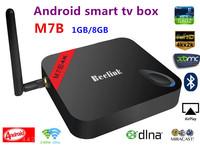 M7B Amlogic S802 Quad Core android smart TV Box  Android 4.4 1G/8G 2.4G/5G WiFi 4Kx2K HDMI XBMC Miracast/DLNA bluetooth smart TV