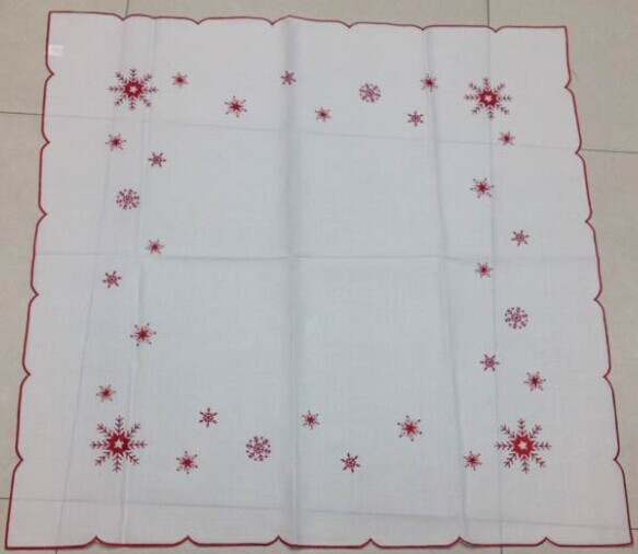 Big Discount Tablecloth table cove hot Style embroidered table cloth home textile towel for wedding dining room 85*85cm NO.981(China (Mainland))