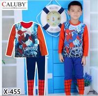 X-455 new children's children's pajamas pajamas clothes sleeve cotton cartoon baby pajamas girl boy suit set